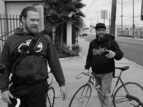 Breakin L.A.: Suicycle representing St. Pauli in Los Angeles (Foto: KARLA LEMUS)